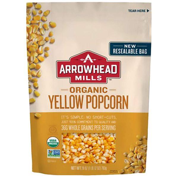 Arrowhead Mills Organic Yellow Popcorn: Popcorn Kernel