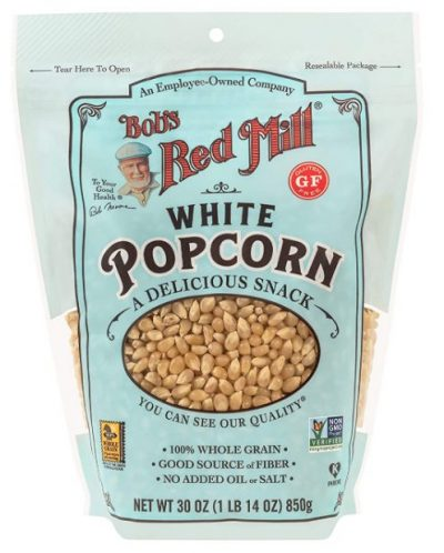 Bob's Red Mill Whole White Popcorn: Popcorn Kernel