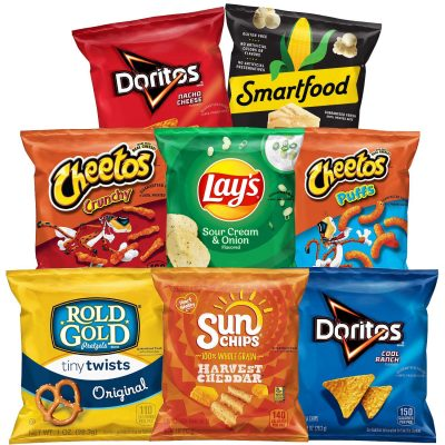 Frito-Lay Mix Variety Pack, 40 Count: Late-Night Snack