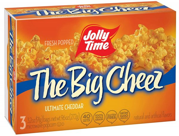 Jolly Time The Big Cheese Microwave Popcorn: Popcorn Kernel