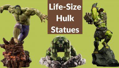 Life-Size Hulk Statues