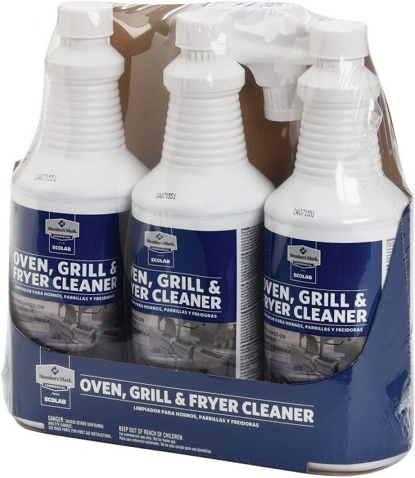 Member Mark's Commercial Oven, Grill, and Fryer Cleaner
