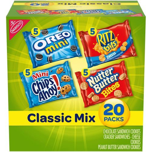 Nabisco Classic Mix Variety Pack: Late-Night Snack