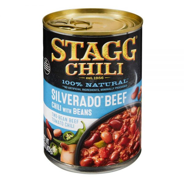 Stagg Silverado Beef Chili with Beans, 15 Ounce