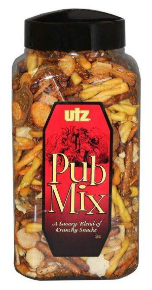 Utz Pub Mix, 44 Ounce Barrel: Late-Night Snack