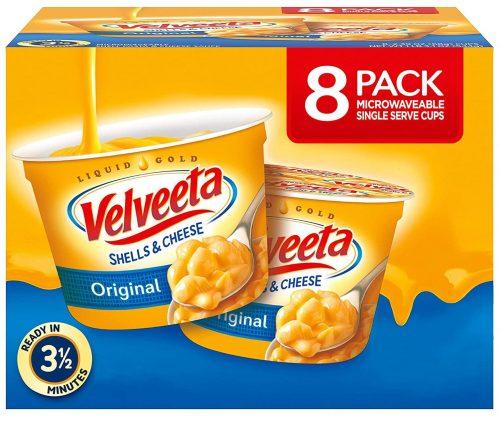 VELVEETA Original Microwavable Shells & Cheese Cups: Late-Night Snack