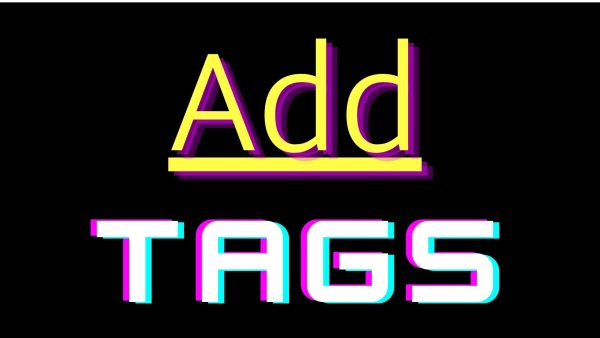 Add tags to your content: SoundCloud Promotion