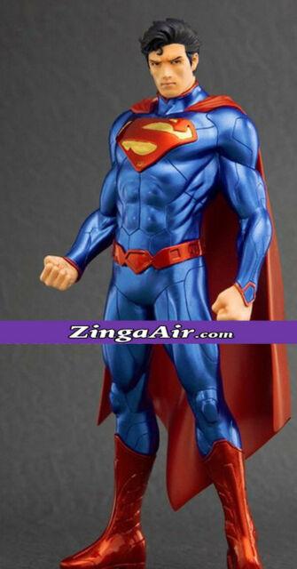 6' Life Size Superman Statue 1:1 DC Comics Wax Prop Sculpture