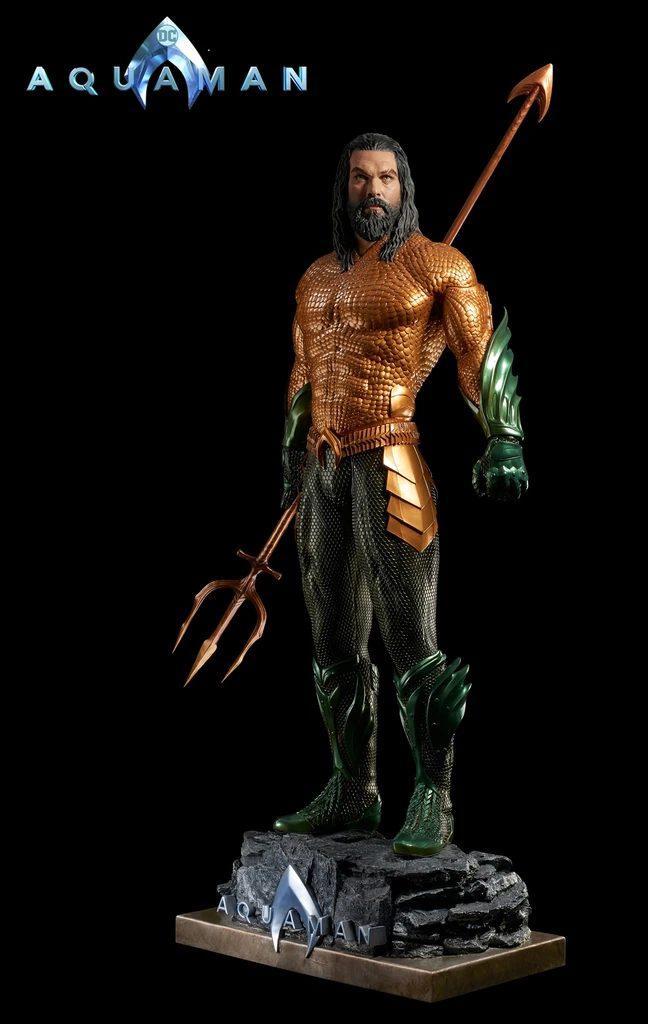 Life-Size Superhero Statues - Aquaman