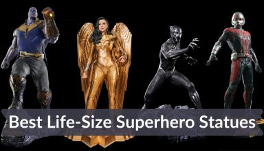 Best Life-Size Superhero Statues