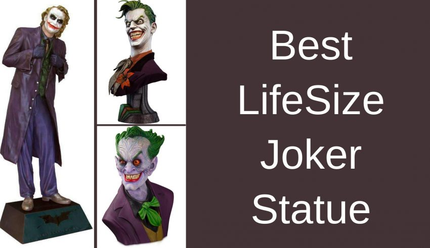 Best LifeSize Joker Statue
