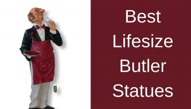 Best Lifesize Butler Statues