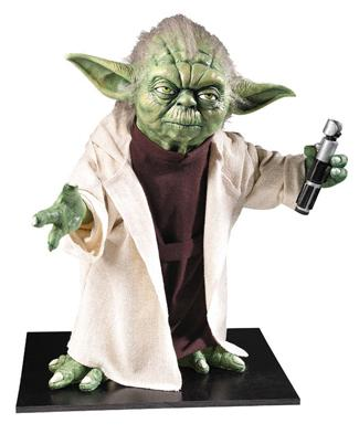 Collector's Edition Life-Size Yoda Statue Star Wars Classic