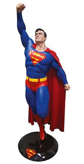 DC - Superman Life-Size Statue
