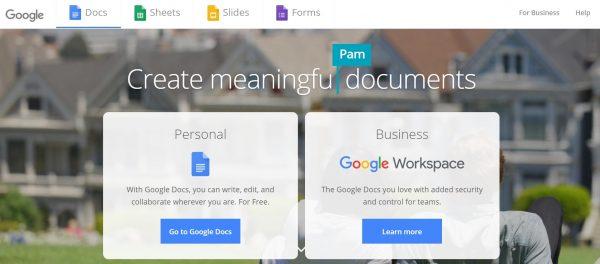 Google Docs (Word)