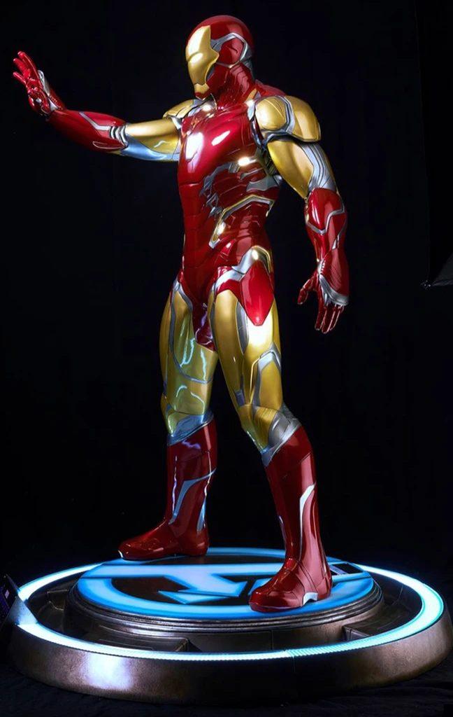 Life-Size Superhero Statues - Iron Man