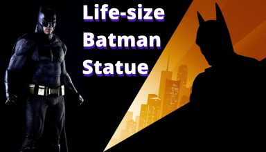 Life-size Batman Statue