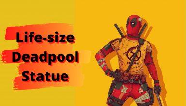 Life-size Deadpool Statue