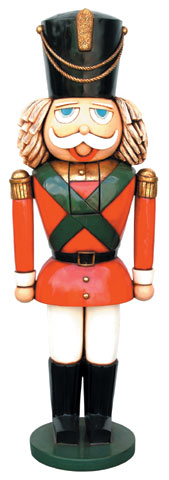 Nutcracker Statue Christmas Decor Life-Size 6FT