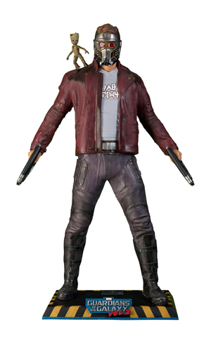Life-Size Star-Lord Statue