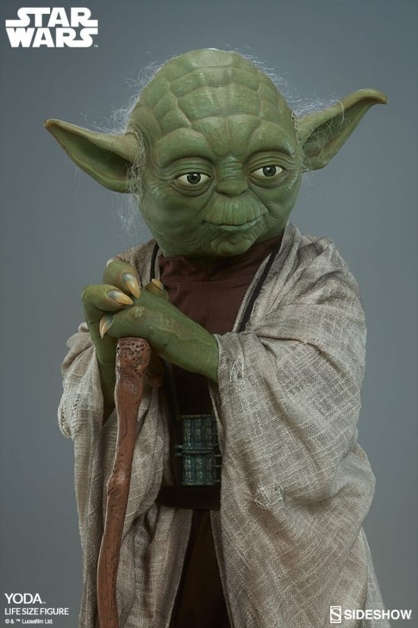 Star Wars: Yoda Life-Size Figure with FREE US Shipping
