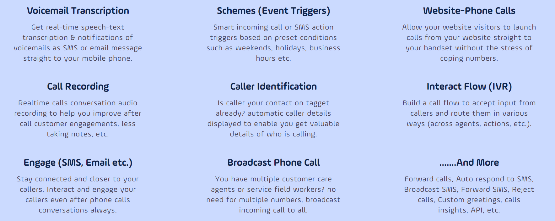 Tagget Products features