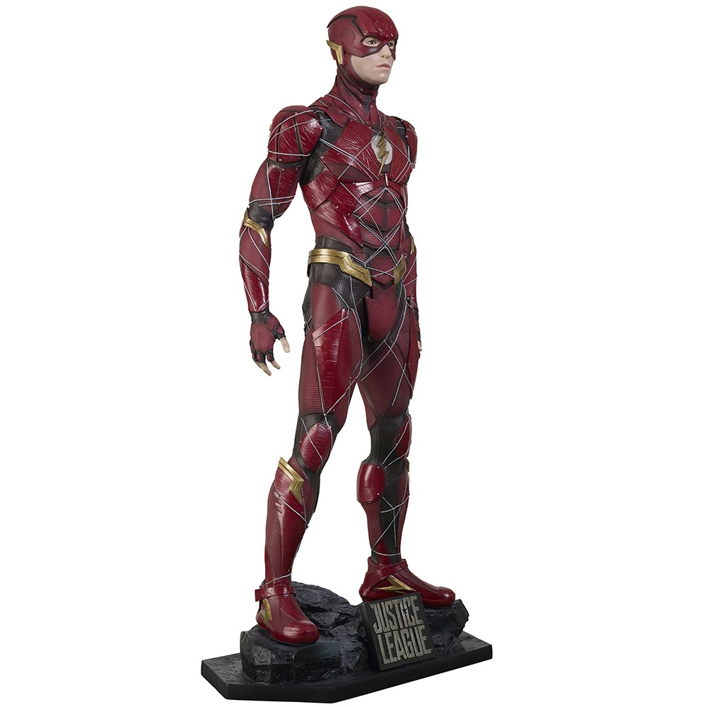 Life-Size Superhero Statues - Flash Statue
