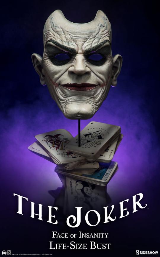 The Joker Life-Size Bust