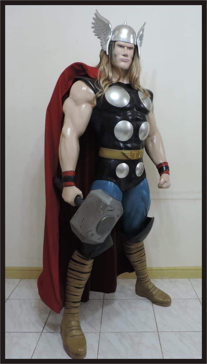 Life-Size Superhero Statues - Thor