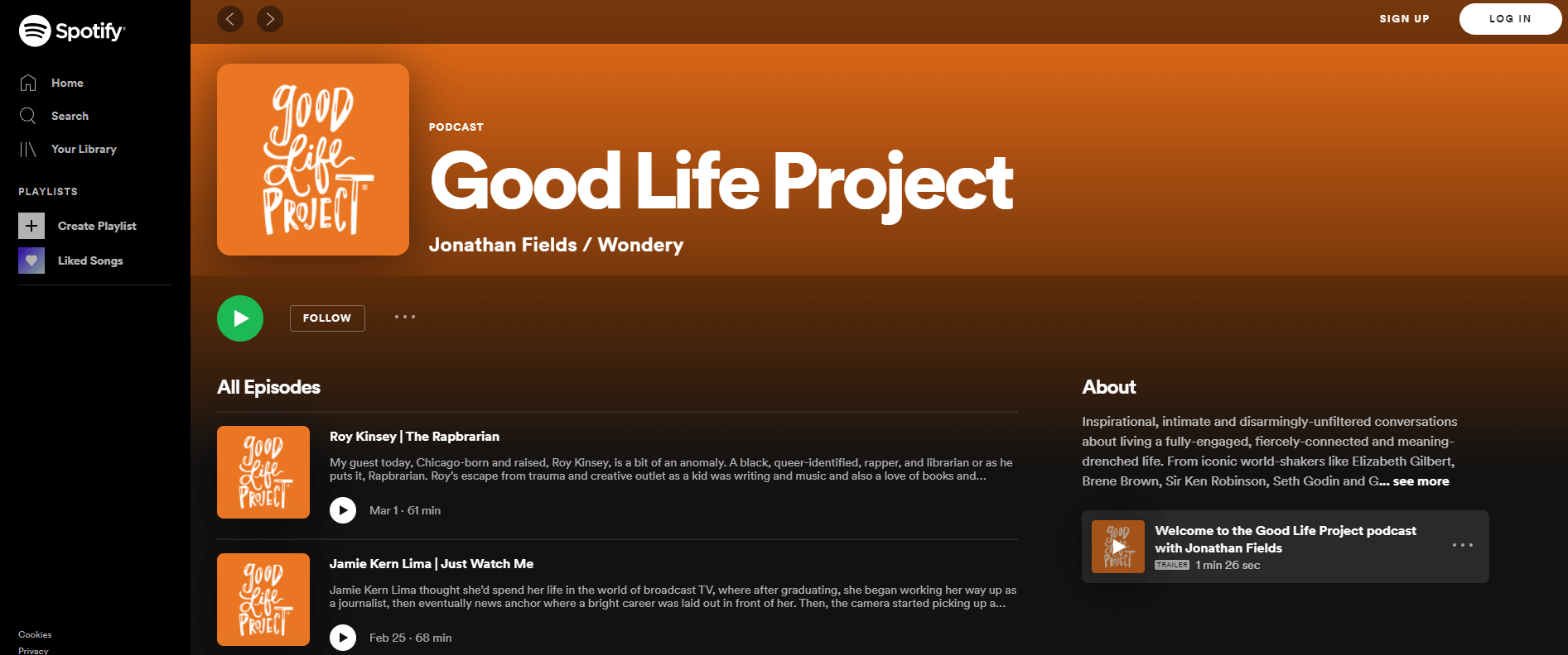 The Good Life Project