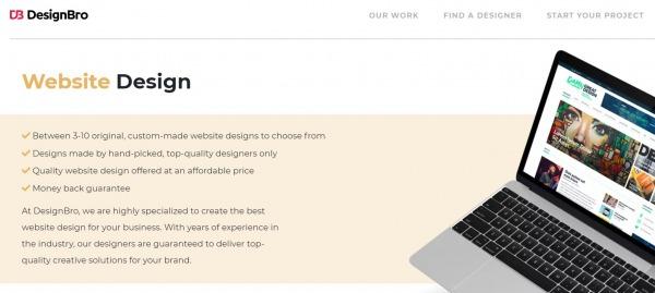 Website Design - designbro