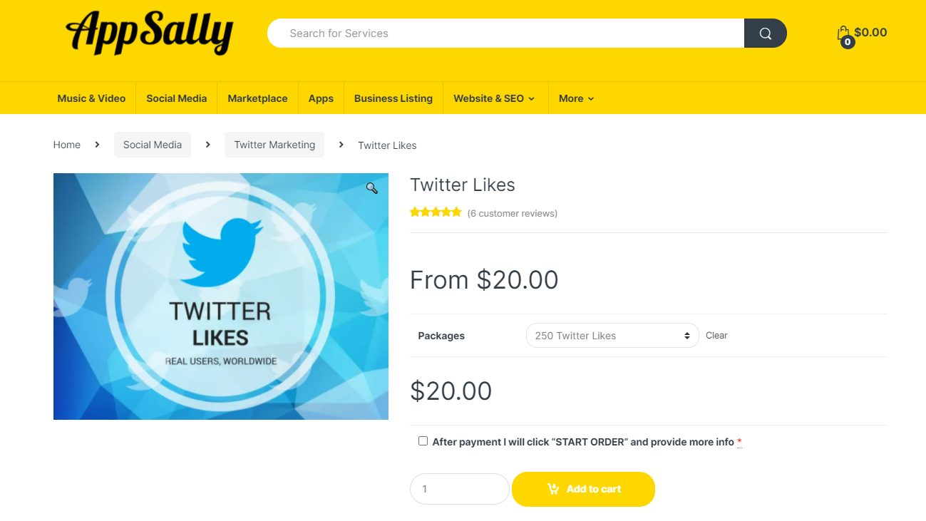 App sally - best sites to buy twitter likes