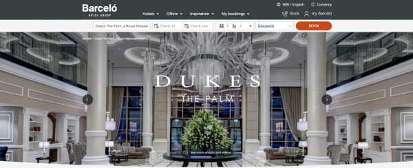 Dukes The Palm - A Royal Hideaway Hotel