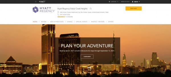 Hyatt Regency, Dubai Creek Heights