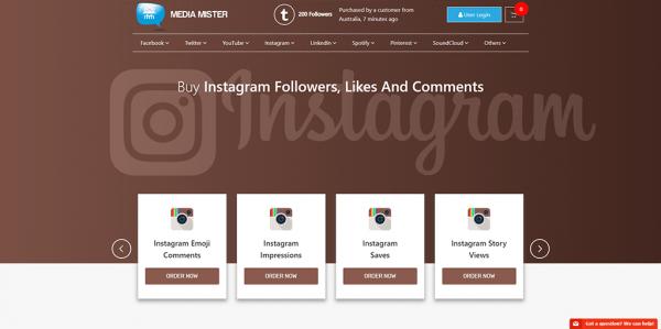Media Mister Instagram
