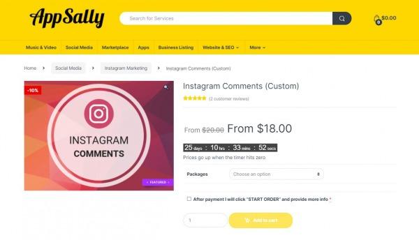 app sally - best sites to buy instagram comments