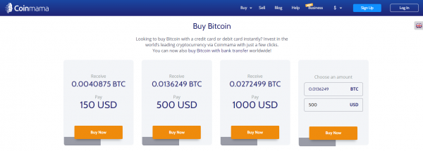 Coinmama - apps like coinbase