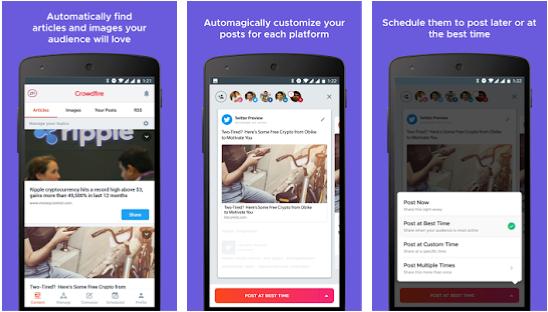 Crowdfire - best instagram analytics app