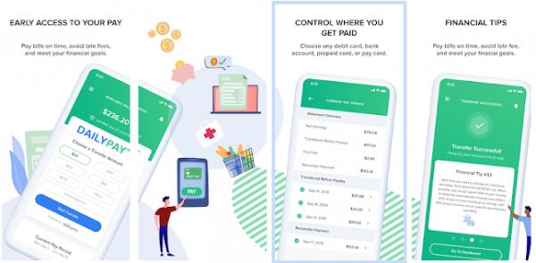 DailyPay - apps like earnin