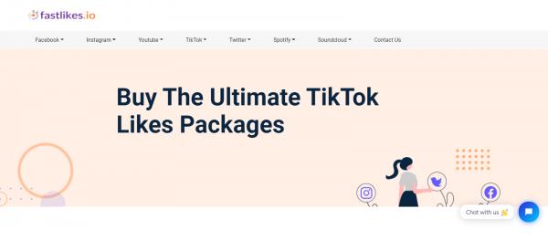 Fastlikes: Site to Buy TikTok Likes & Views
