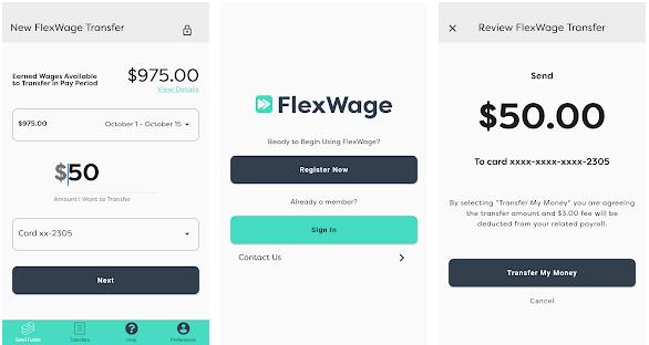 FlexWage - app like earnin