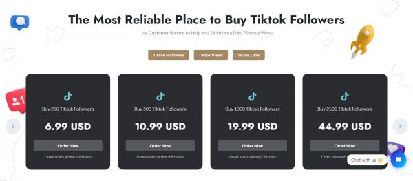 GetViral: Site to Buy TikTok Likes & Views
