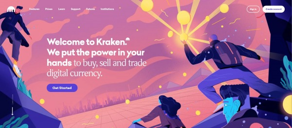 Kraken - apps like coinbase