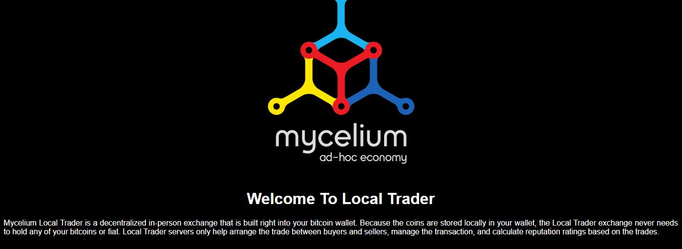 Mycelium Local Trader