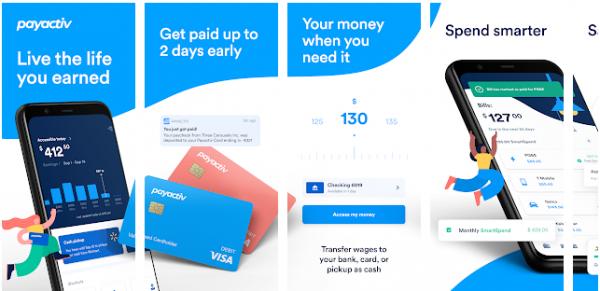 PayActiv - apps like earnin