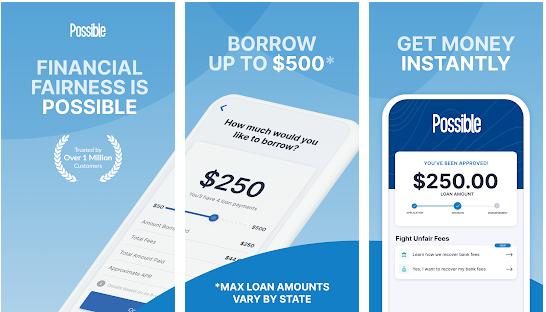 Possible Finance - apps like earnin