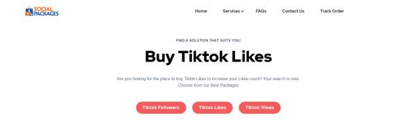 SocialPackages: Site to Buy TikTok Likes & Views
