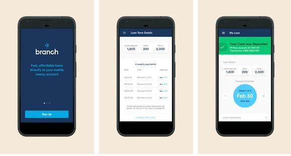 branch - apps like earnin
