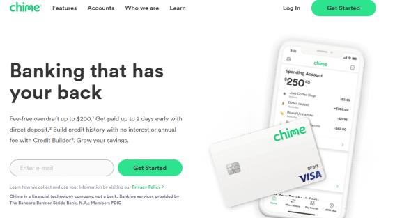 chime - apps like earnin