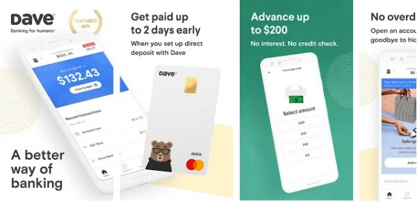 dave - apps like earnin